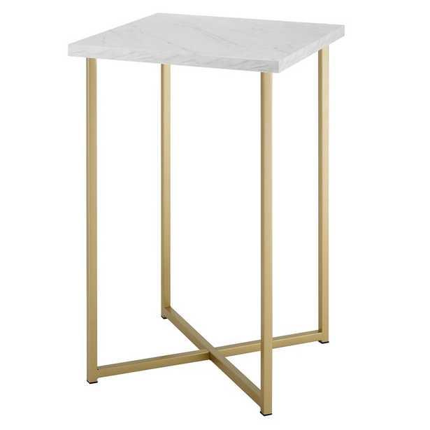 Dominique Square End Table - Wayfair