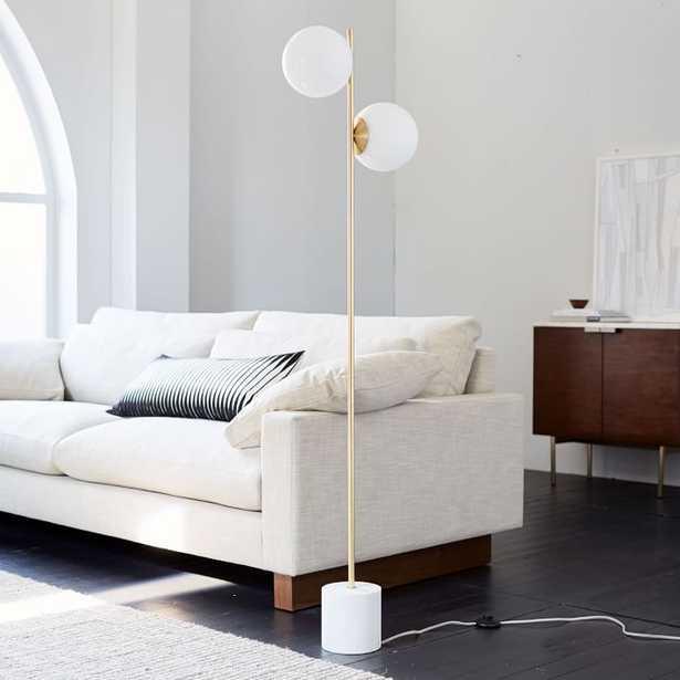 Sphere + Stem Floor Lamp - West Elm