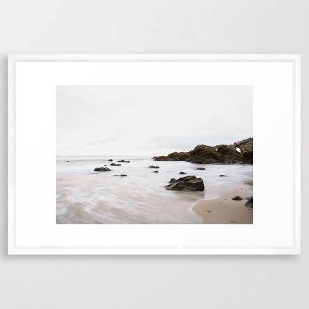 Tide Framed Art Print - Society6