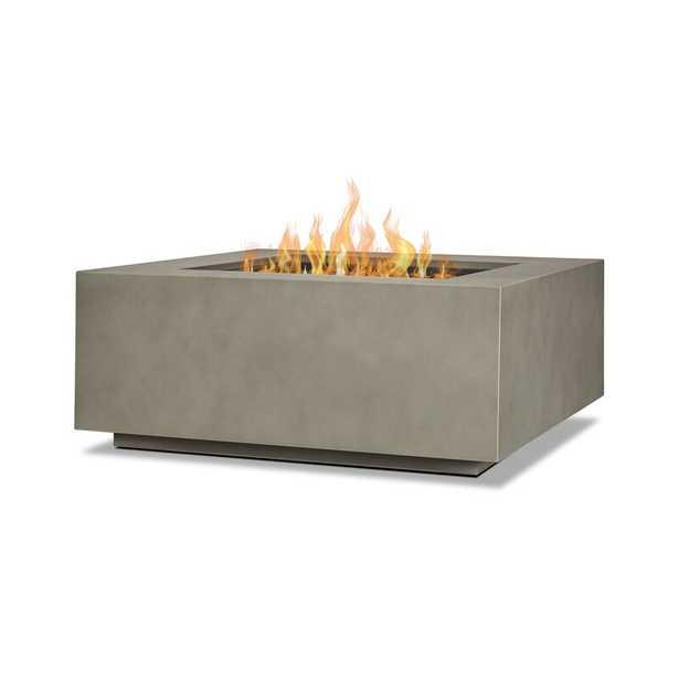 Aegean Steel Propane/Natural Gas Fire Pit Table - Wayfair