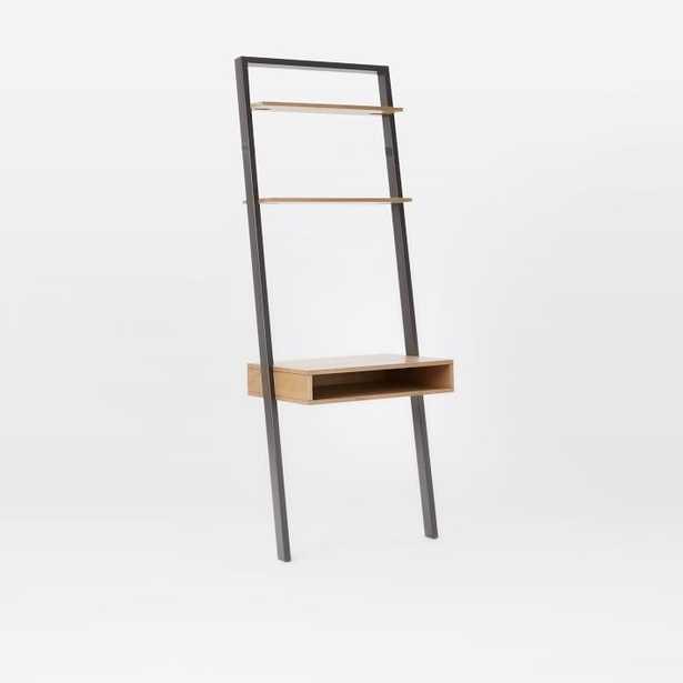 Ladder Shelf Storage Leaning Wall Desk - Sand/Stone - West Elm