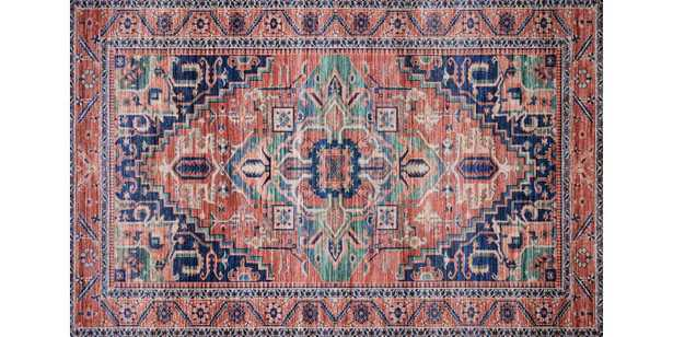 CIE-06 CORAL / MULTI - 8x10 - Loma Threads