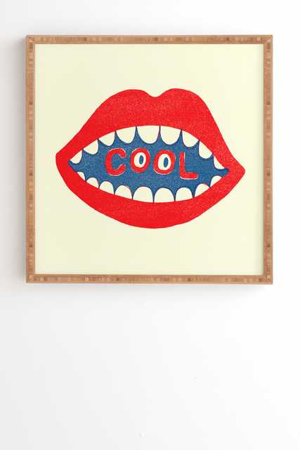 COOL MOUTH By Nick Nelson 30x30 - Wander Print Co.