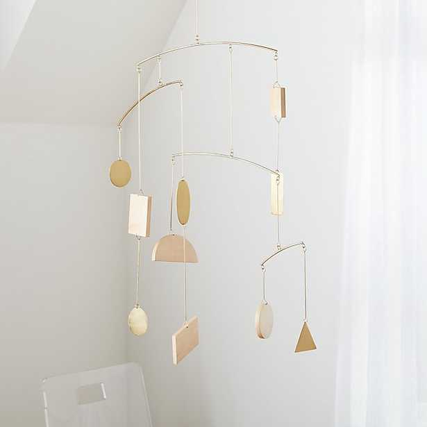 Simple Shapes Geometric Baby Mobile - Crate and Barrel
