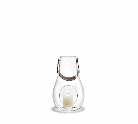 Holmegaard (R) Glass Lantern, Medium - Pottery Barn