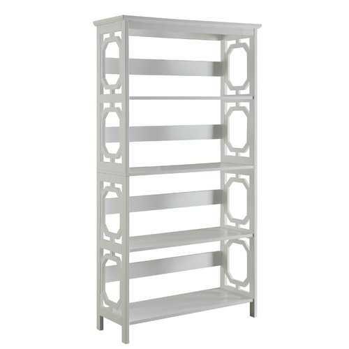 Ardenvor Standard Bookcase - White - Wayfair