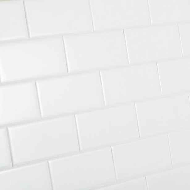 Daltile Restore Bright White 3 in. x 6 in. Ceramic Modular Wall Tile (12.5 sq. ft. / case) - Home Depot