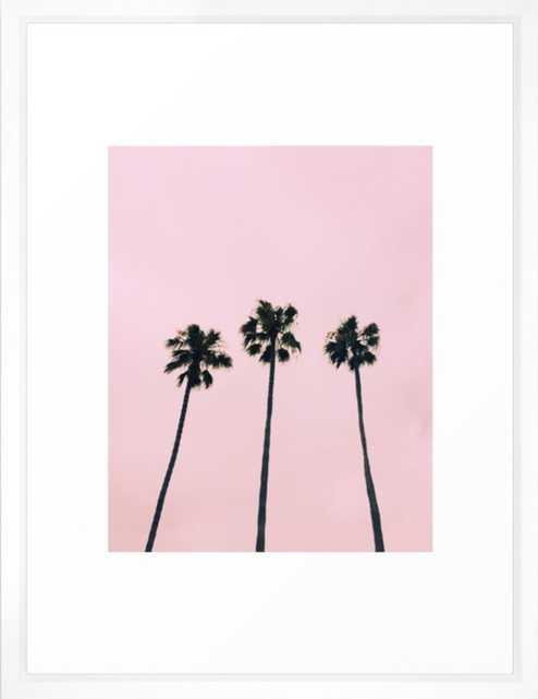 Cali Vibe Framed Art Print - Society6