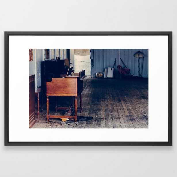 "Music Hall Framed Art Print, 26"" x 38"" - Society6"