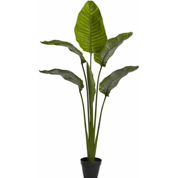"60"" Artificial Palm Tree in Pot - Wayfair"