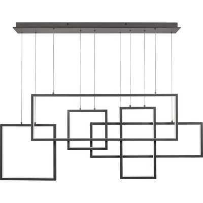 Boyett 5-Light LED Geometric Chandelier - Wayfair