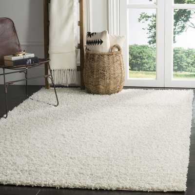 Kourtney White Area Rug - Wayfair