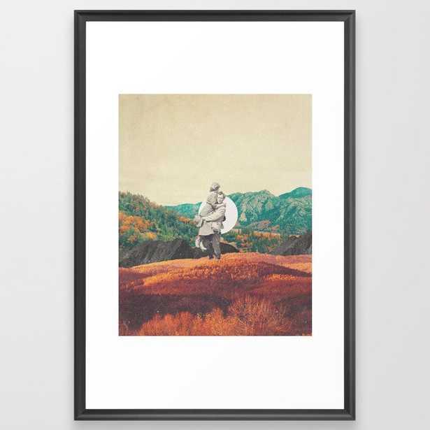 Promises Framed Art Print - Society6
