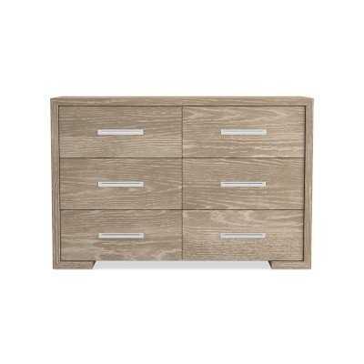 Madison Dresser, Wood, Dune, Stainless Steel - Williams Sonoma