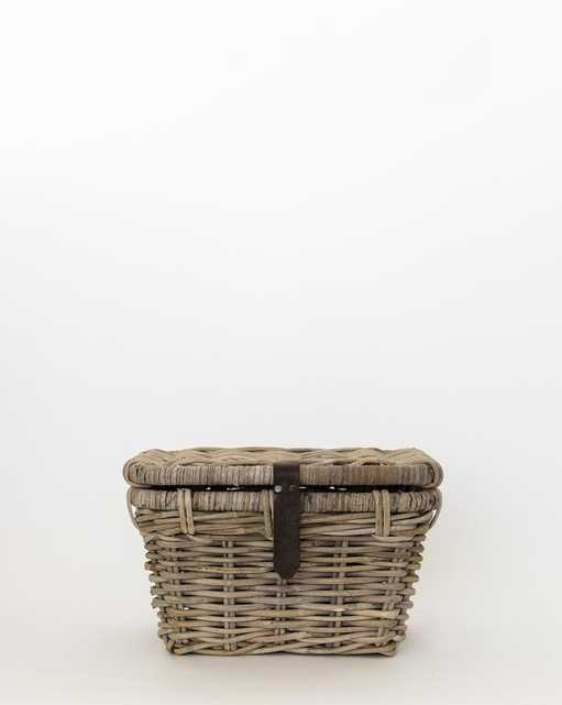 RATTAN TRUNK BASKET - Small - McGee & Co.