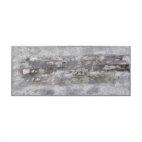 Weathered Stone Hand Painted Canvas - Hudsonhill Foundry
