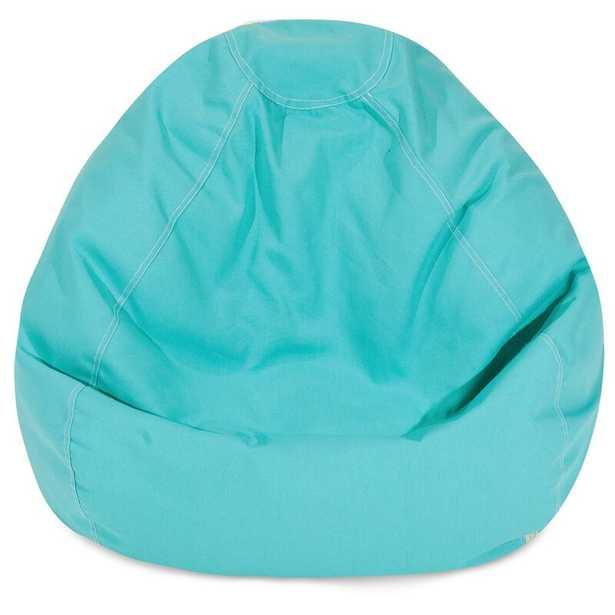 """Standard Bean Bag Chair & Lounger, 28"""", all sherpa - Wayfair"""