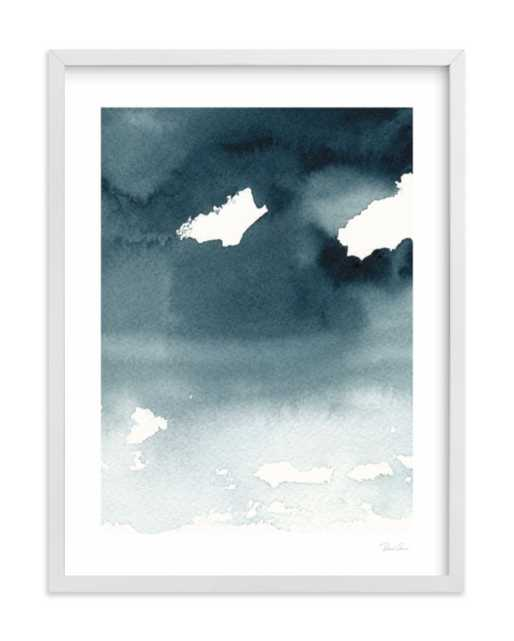 """Mist Rises Over the Water w/ Artist Signature (Final Frame Size:   19.3"""" X 25.3"""") - Minted"""