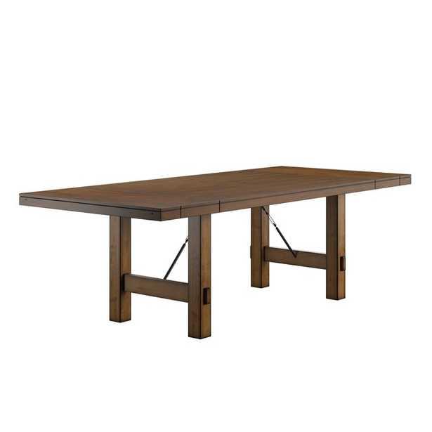 Beachem Extendable Solid Wood Dining Table - Wayfair