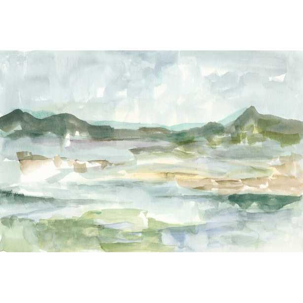 'Panoramic Seascape II' Painting on Canvas - Wayfair