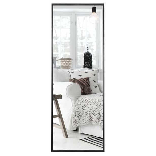 Modern & Contemporary Full Length Mirror - Elegant Black - Wayfair