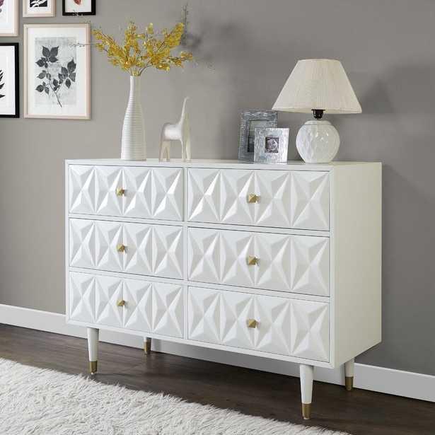 MoretinMarsh 6 Drawers Double Dresser - Wayfair