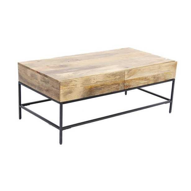 Nowell Coffee Table with Storage - Wayfair