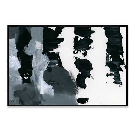 Pronto Framed Painting Print on Wrapped Canvas - AllModern