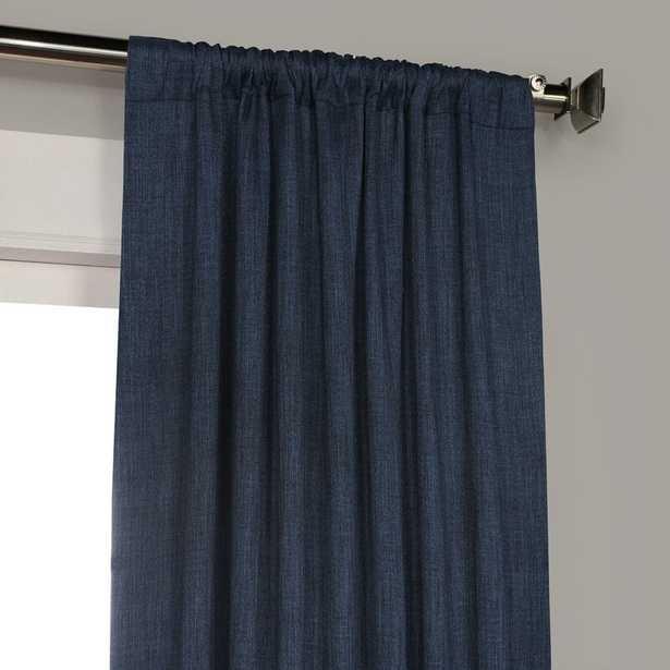Clem Blackout Rod Pocket Single Curtain Panel - AllModern