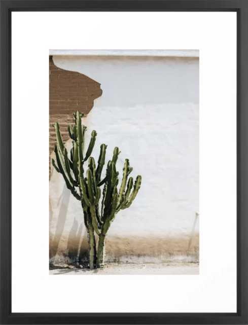 California Cactus Framed Art Print - 20x26 - Society6