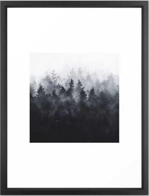 The Heart Of My Heart // Midwinter Edit Framed Art Print - Society6