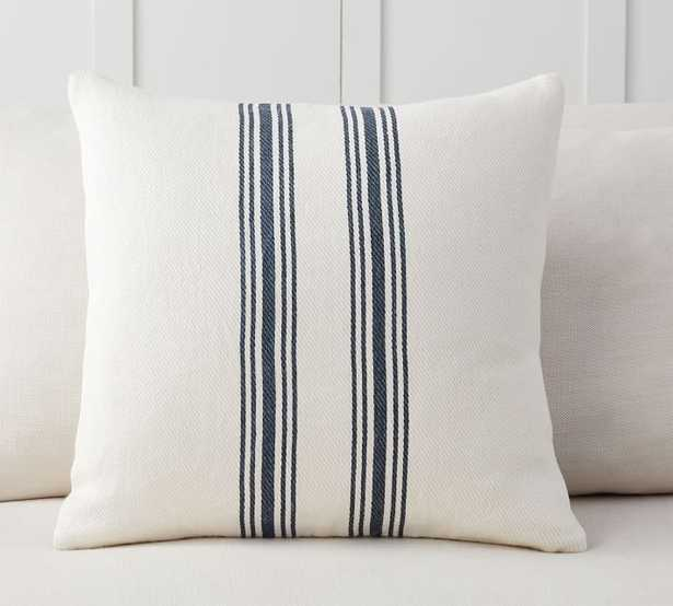 Culver Grainsack Striped Reversible Pillow Covers - Pottery Barn
