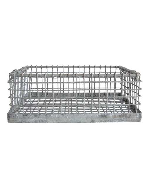 STACKABLE WIRE BASKET - McGee & Co.