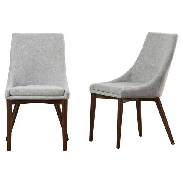 Aaliyah Upholstered Dining Chair - Set of 2 - AllModern