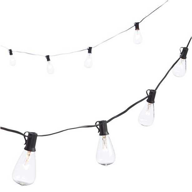 edison string lights - CB2
