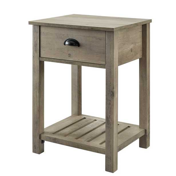 Genevieve End Table with Storage - Wayfair