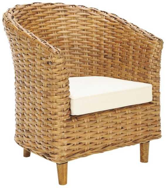 Biscayne Park Barrel Chair - Wayfair