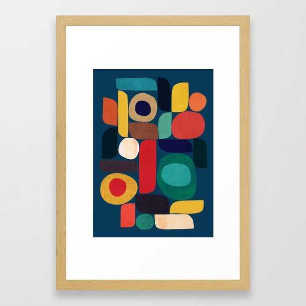 Miles and miles framed art print 15x21 - Society6