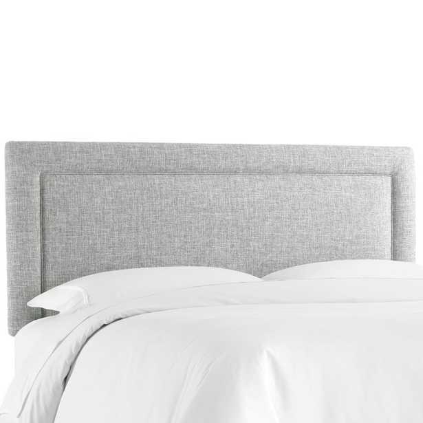 Cansler Border Upholstered Panel Headboard, Full, Zuma Pumice - Wayfair