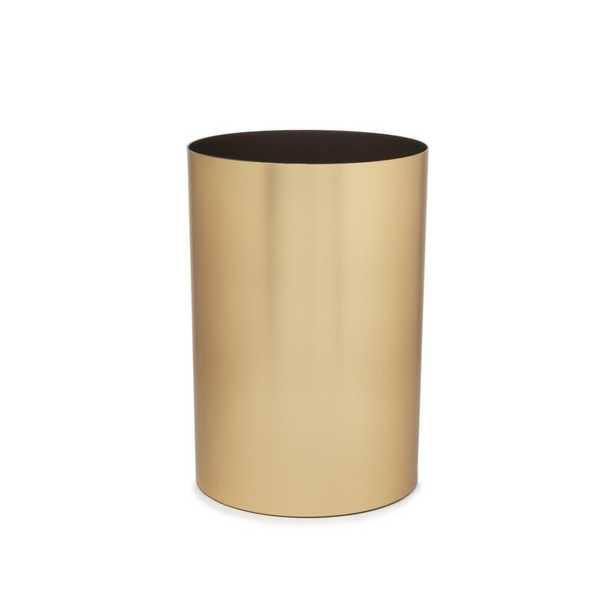 Metalla 4.5 Gallon Waste Basket - Wayfair