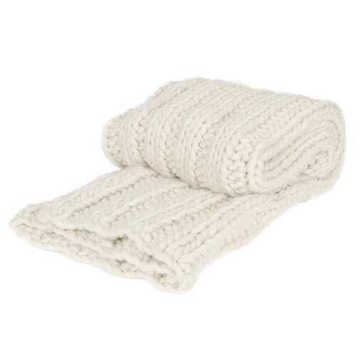 Chunky Knit Throw See More by Kate and Laurel - Wayfair