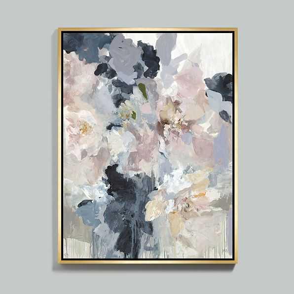 "Garden Gate Framed Canvas 48""x36"" - Ballard Designs"