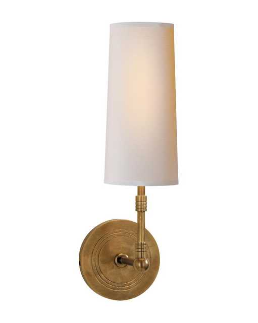 ZIYI SCONCE - HAND-RUBBED ANTIQUE BRASS - McGee & Co.