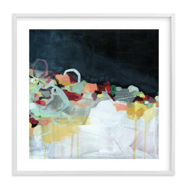 "Abstract Landscape (Dark) Wall art /  31.3"" X 31.3"" - Minted"