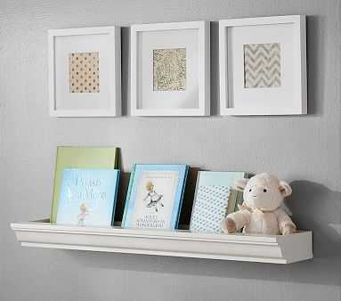 Classic 3ft book nook, Simply White - Pottery Barn Kids