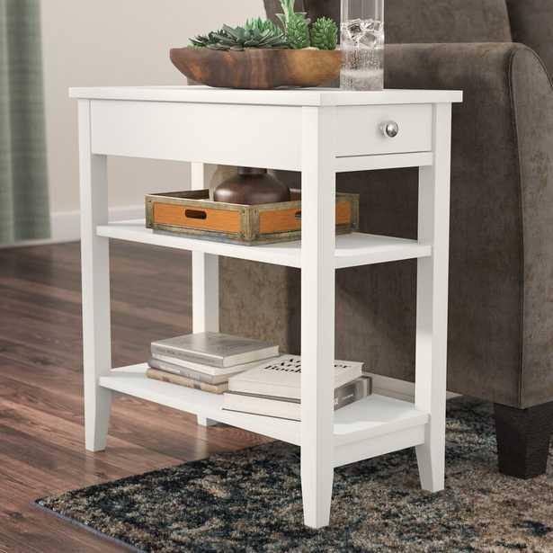 Inman End Table With Storage - Wayfair