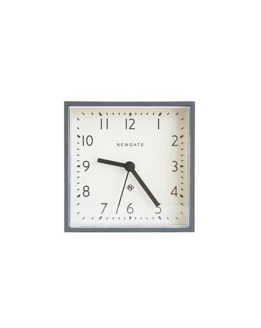 CUBIC CLOCK, GRAY - McGee & Co.