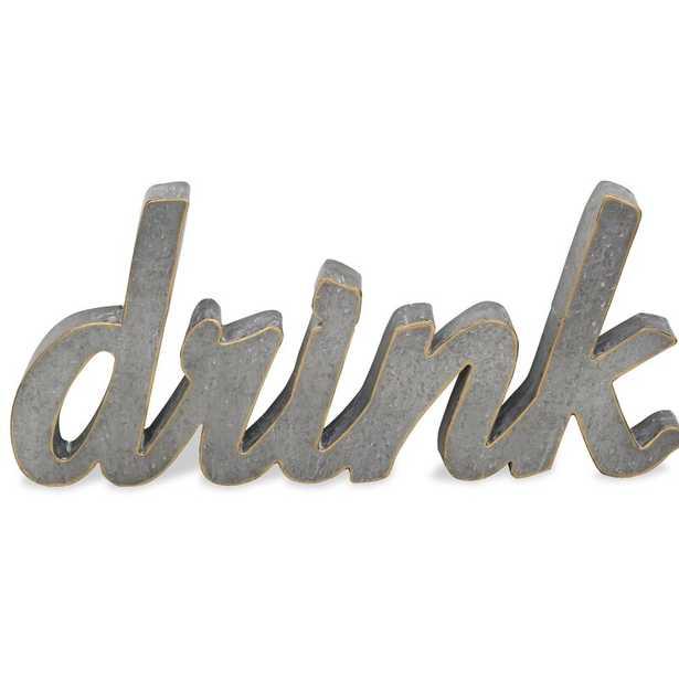Metal Drink Wall Décor - Wayfair