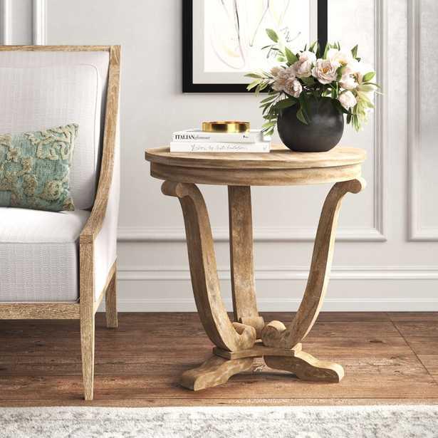 Adagio Pedestal End Table - Wayfair