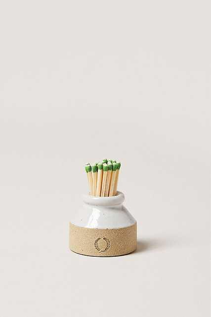 Farmhouse Pottery Milk Bottle Match Striker - Anthropologie